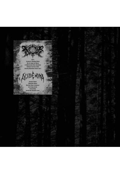 "XASTHUR / ACID ENEMA ""split"" LP"
