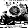 "GRUNT ""Terror & Degeneration"" cd"