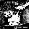 "ABJECTION RITUAL ""Futility Rites"" CD"