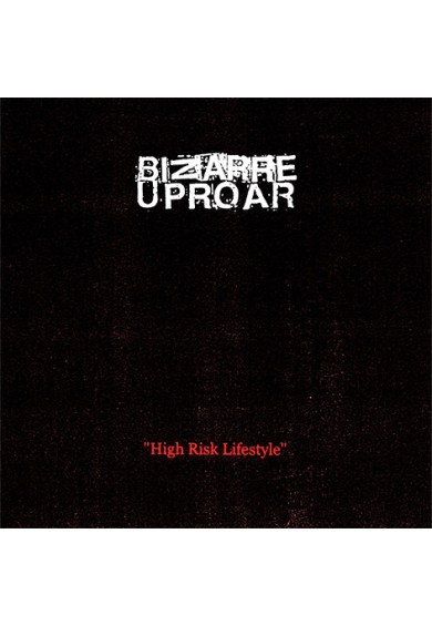 "BIZARRE UPROAR ""High Risk Lifestyle"" LP"