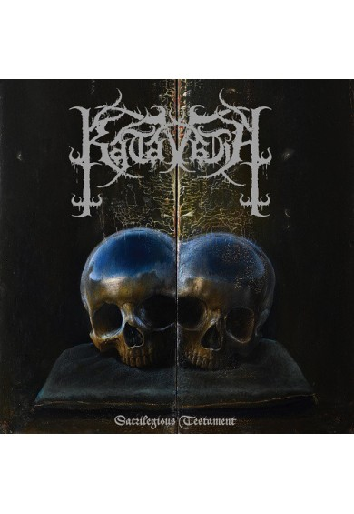 "Katavasia ‎""Sacrilegious Testament"" cd"