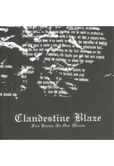 "CLANDESTINE BLAZE ""Fire Burns In Our Hearts"" cd"
