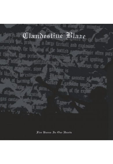 "CLANDESTINE BLAZE ""Fire Burns In Our Hearts"" LP"