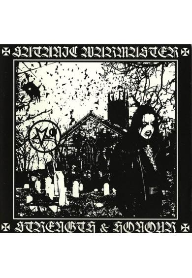 """SATANIC WARMASTER """"Strenght & Honour - 2007 version"""" cd"""