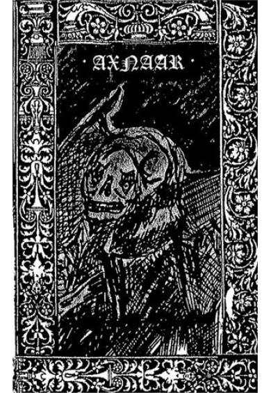 "AXNAAR ""Shite Inside Death"" tape"